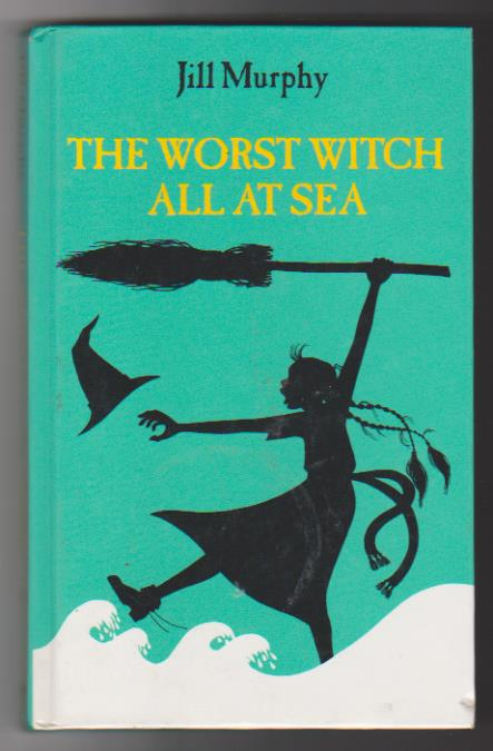 Jill Murphy. The Worst Witch All at Sea.  Cuento. First Edition 1993