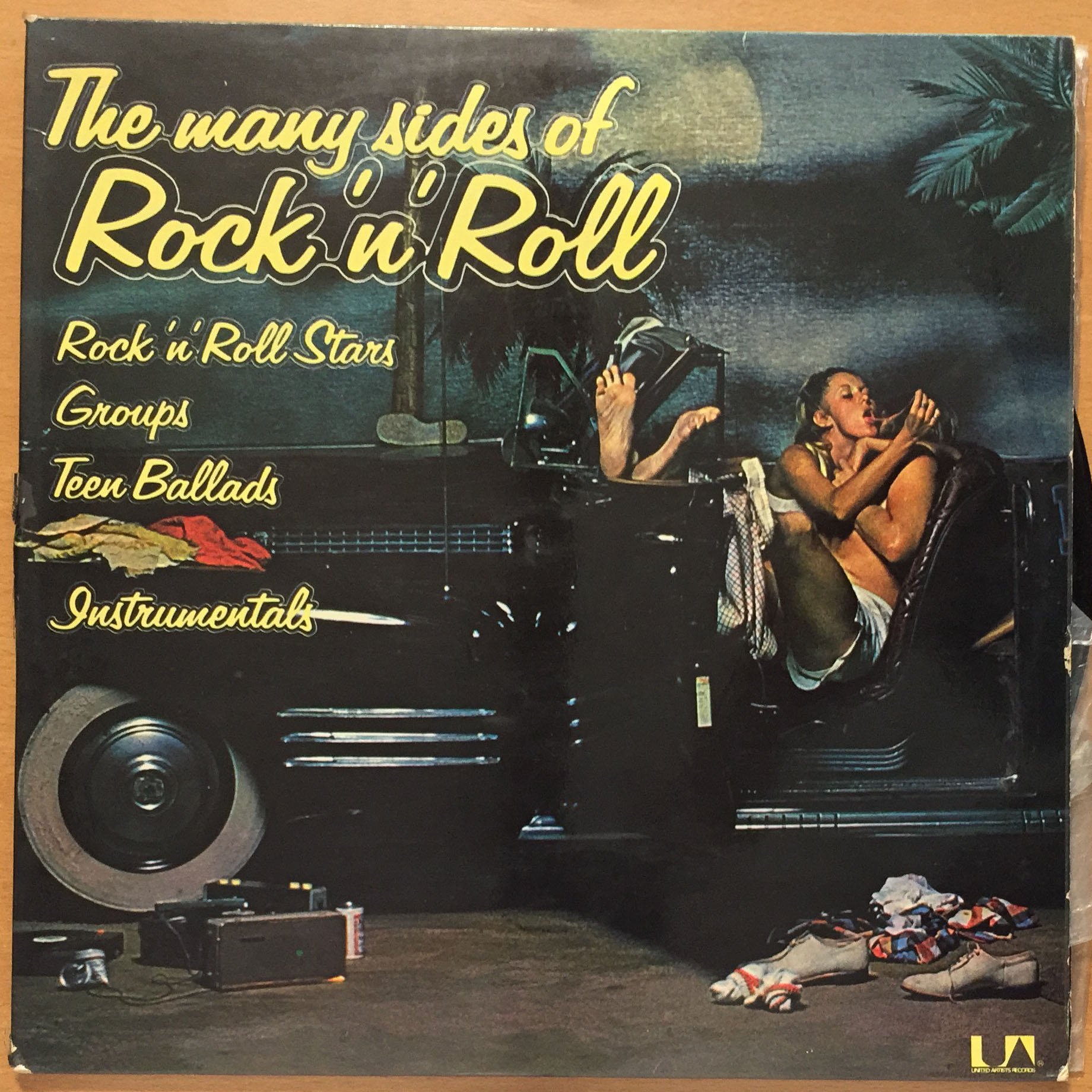 VVAA - The many sides of Rock`n`Roll. 1975 United Artist