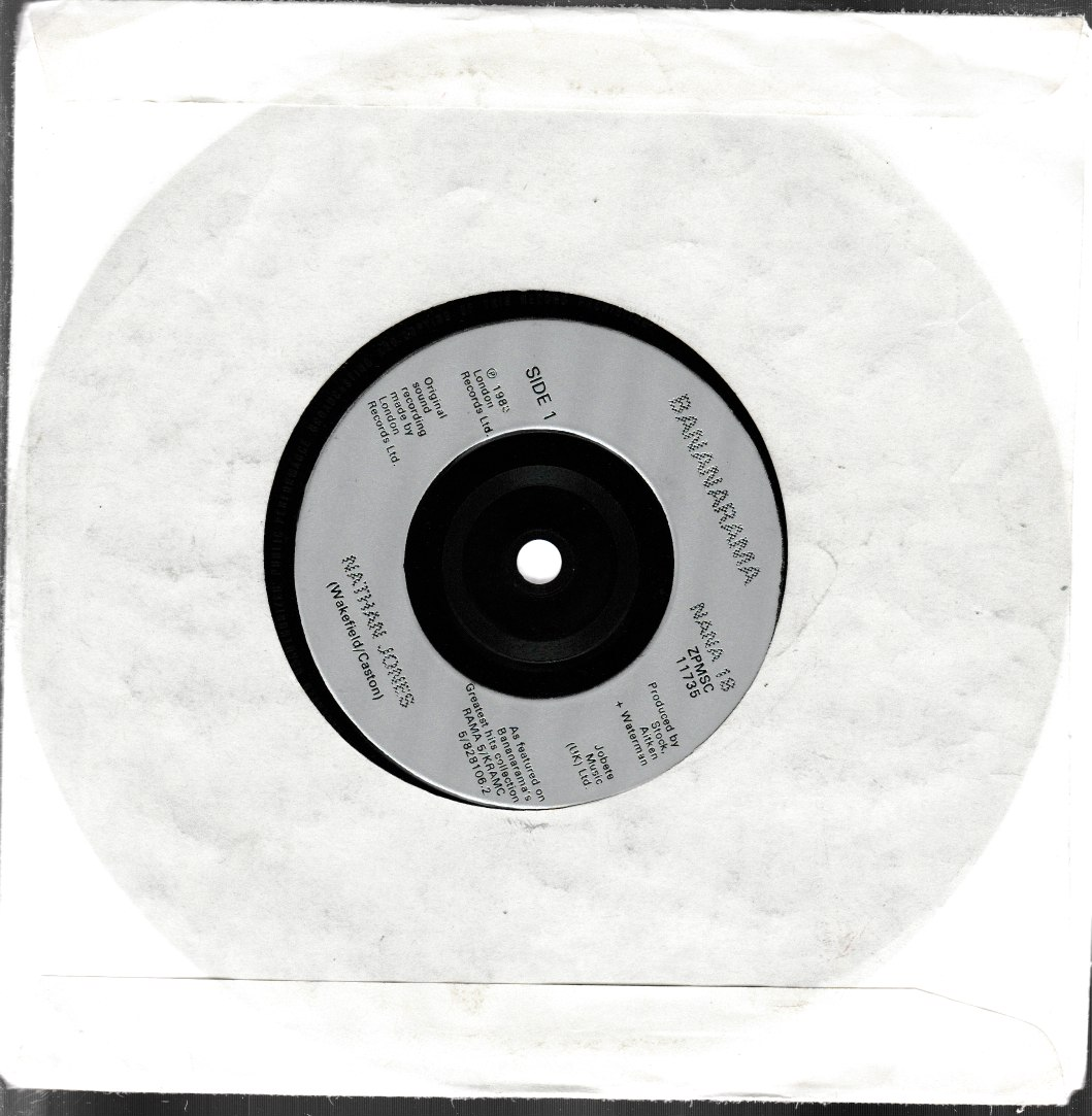 Bananarama - Nathan Jones - 7inch EP