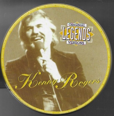 Original Legends Version. Kenny Rogers. 1996 Mandarim Records (Lata)