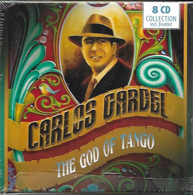 Carlos Gardel. The God of Tango. 8 cds y booklet