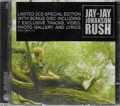 Jay-Jay Johanson. Rush. 2005 EMI. Limited 2CD Special Edition