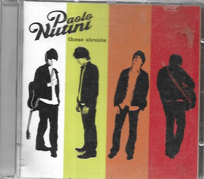 Paolo Nutini. These Streets. 2006 Warner