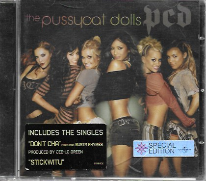 The Pussycat Doll. PCD. 2005 AM Records. Special Edition
