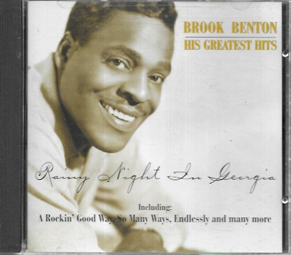 Brook Benton. Rainy night in Georgia. 1996 Hallmark