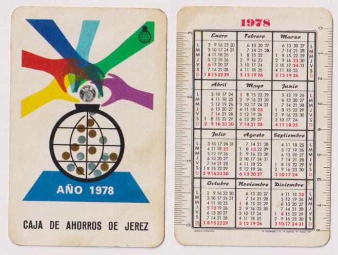 Calendario De 1978.Pliego Numismatica Y Coleccionismo Subastas Online Y En Vivo
