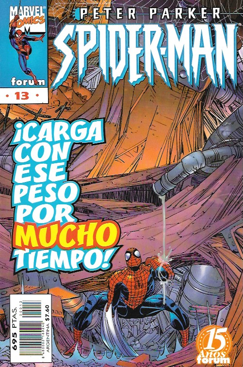 Peter Parker: Spiderman. Forum 1997. Nº 13