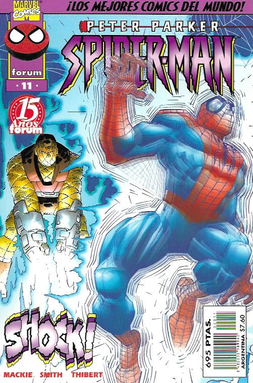 Peter Parker: Spiderman. Forum 1997. Nº 11