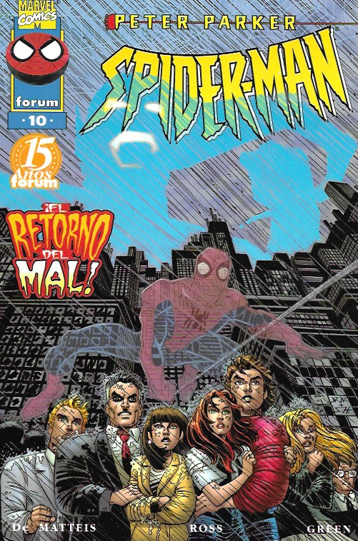 Peter Parker: Spiderman. Forum 1997. Nº 10