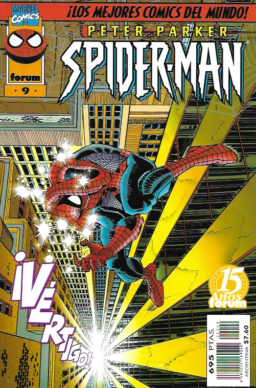 Peter Parker: Spiderman. Forum 1997. Nº 9
