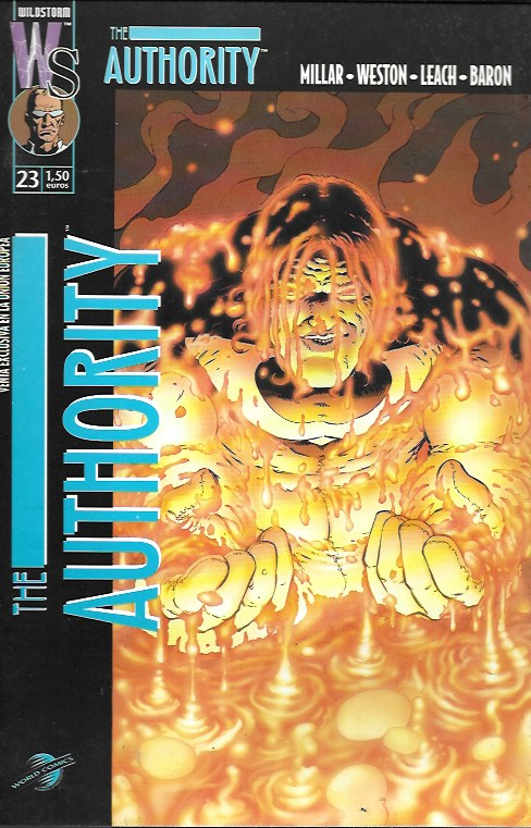 The Authority. World Comics 2000. Nº 23