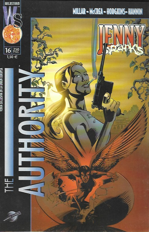The Authority. World Comics 2000. Nº 16