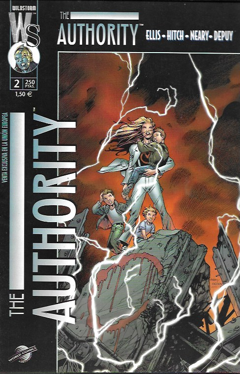 The Authority. World Comics 2000. Nº 2