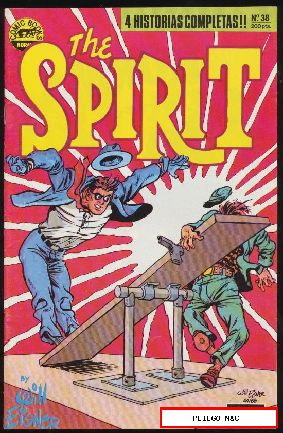The Spirit. Norma 1988. Nº 38