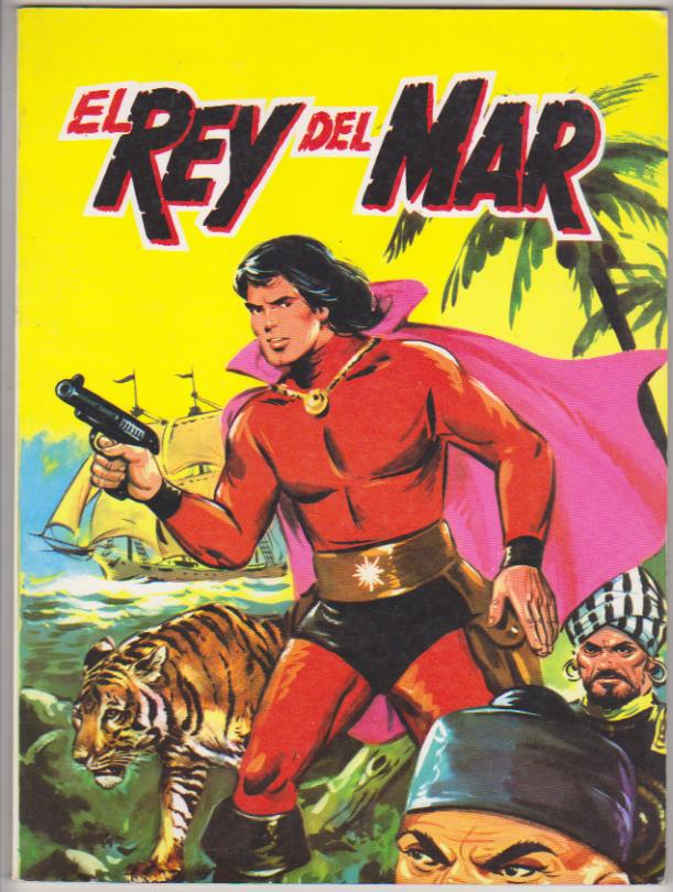 El Rey del mar. Editorial Antalbe. (28x21)