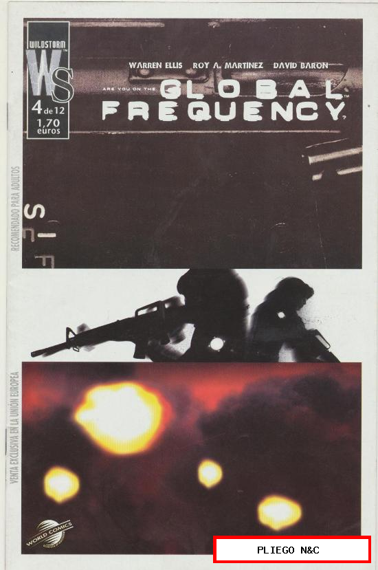 Global Frequency. World Comics 2004. Nº 4