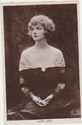 Foto-Postal. Alice Terry. Real Photograph. Long Acre London 1920-30