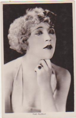 Foto-Postal. Mae Murray. Real Photograph. Long Acre London 1920-30