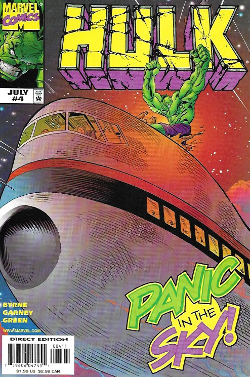 Hulk, vol. 1, #4 July 1999. Marvel Comics (EEUU)