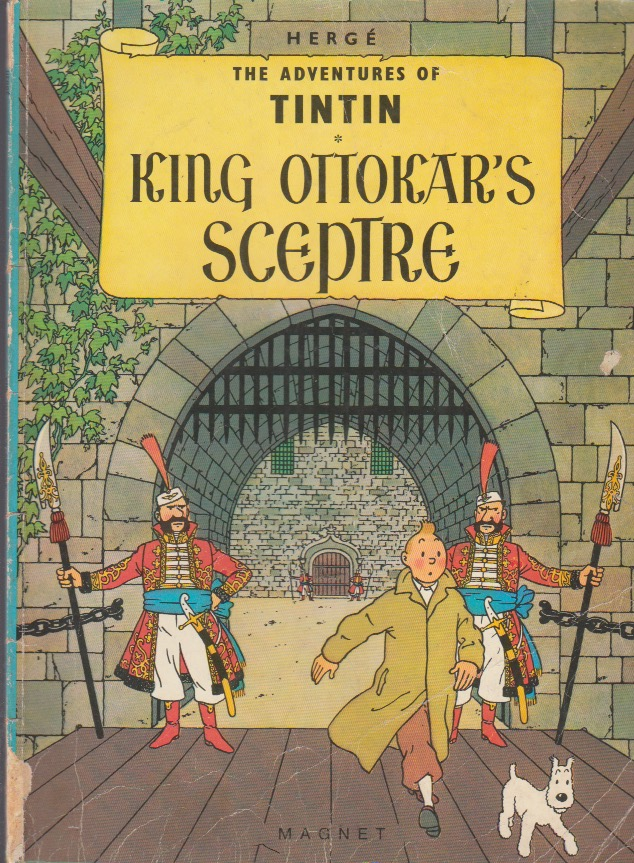 The Adventures of Tintin. Magnet 1981. King Ottokar's Sceptre